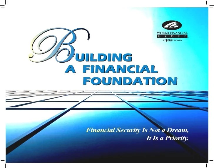 also building  financial foundation rh slideshare