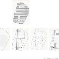 Oma Parc De La Villette Diagram 6 Way Trailer Plug Wiring Chevy Build The France Paris 1982