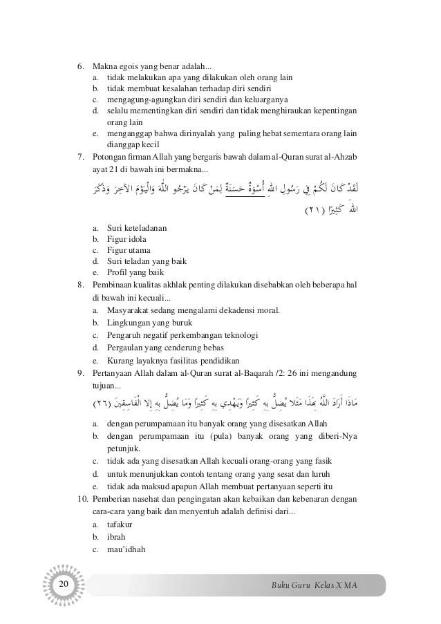 Contoh Soal Dan Jawaban Syaja Ah Jawaban Buku Cute766