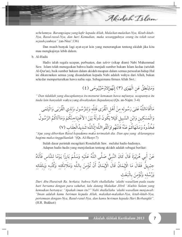 Dibawah Ini Yang Merupakan Toleransi Dalam Hal Akidah Adalah : dibawah, merupakan, toleransi, dalam, akidah, adalah, Akidah, Akhlak