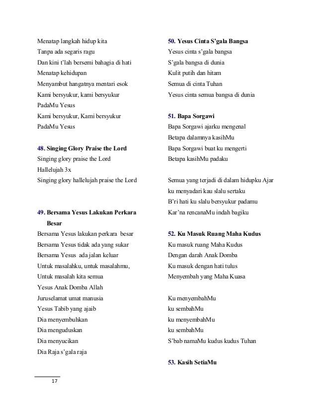 Lirik Ku Masuk Ruang Maha Kudus : lirik, masuk, ruang, kudus, Rohani, Masuk, Ruang, Kudus, Berbagai