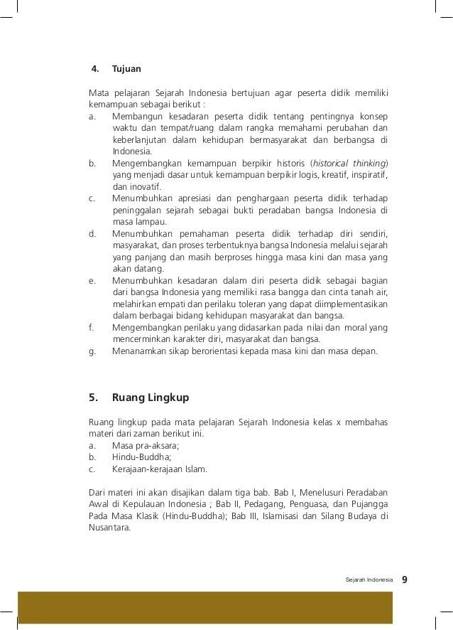 Pelajaran Sejarah Kelas 10 : pelajaran, sejarah, kelas, Pegangan, Sejarah, Indonesia, SMA/SMK, Kelas, Kurikulum