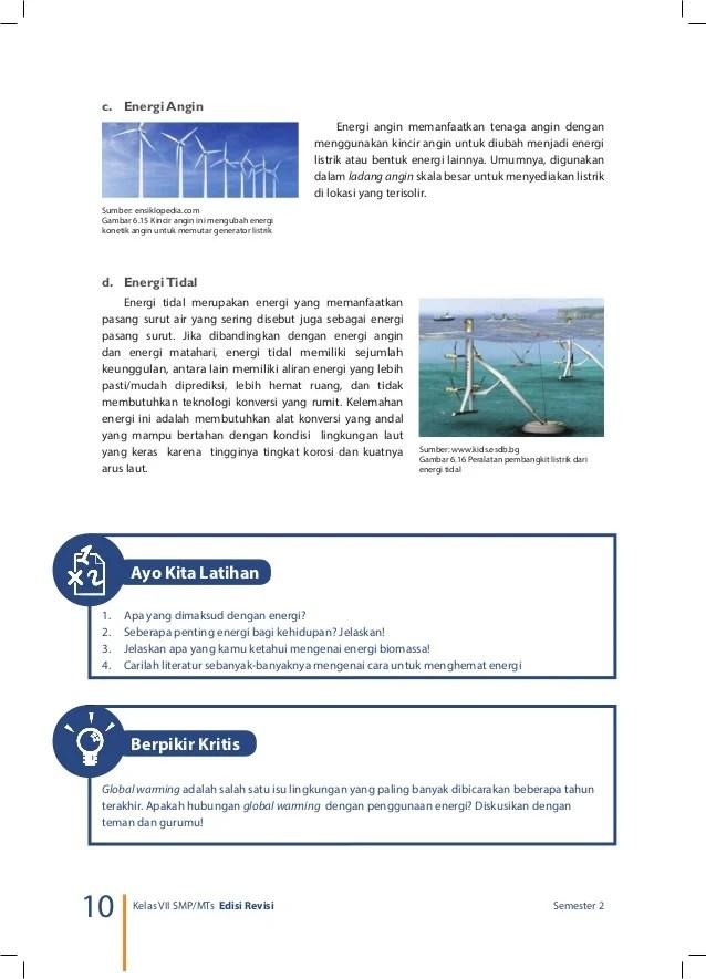 Seberapa Penting Energi Bagi Kehidupan Jelaskan : seberapa, penting, energi, kehidupan, jelaskan, Kelas, Kurikulum, Semester