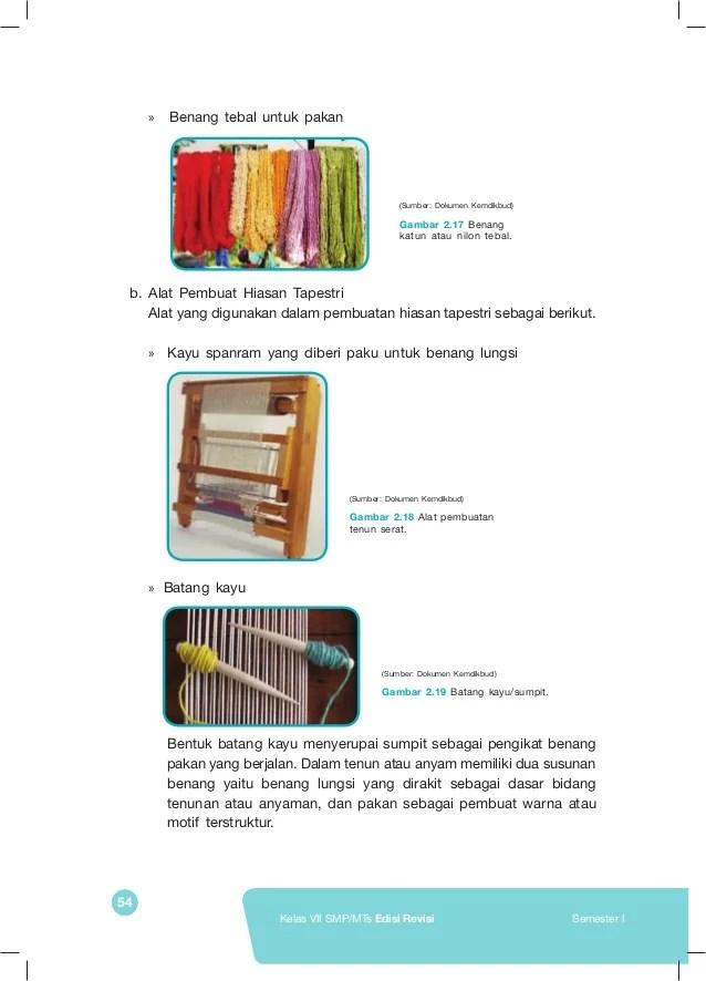 Proses Pembuatan Tapestri : proses, pembuatan, tapestri, Siswa, Kelas, Prakarya, Ayomadrasah