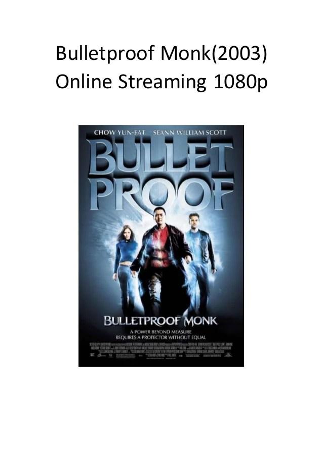 Monk Streaming Season 1 : streaming, season, Bulletproof, (2003), Online, Streaming, 1080p, Funny, Action, Movies