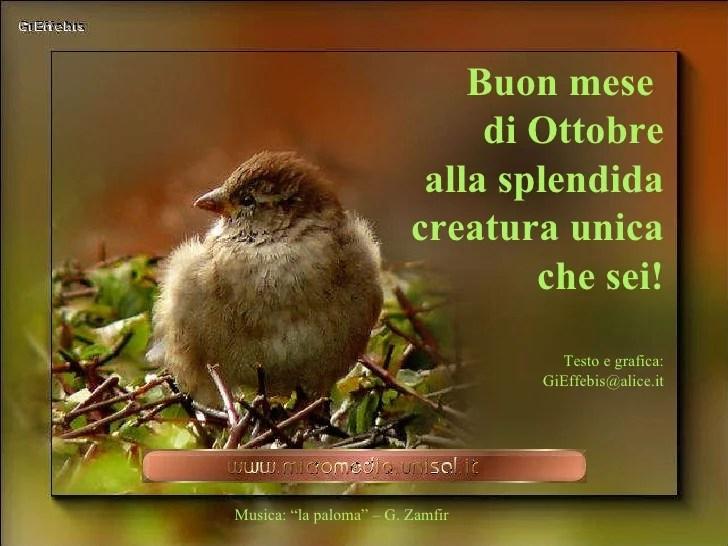 Buon Mese Di Ottobre 09 A