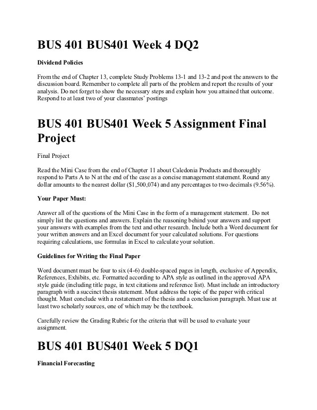 Bus 401 Week 4 Quiz Ashford University Homework Academic Writing