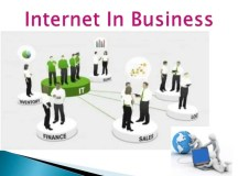 Business application of internet
