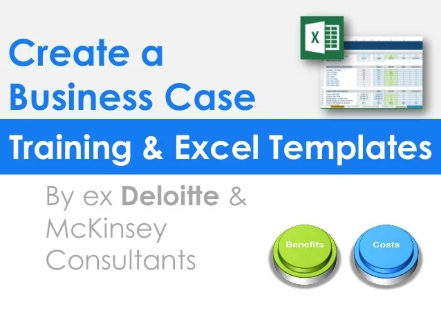 simple business case template powerpoint