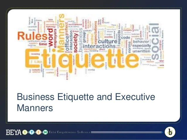 Business Etiquette Prep School Learn The Game Rules And