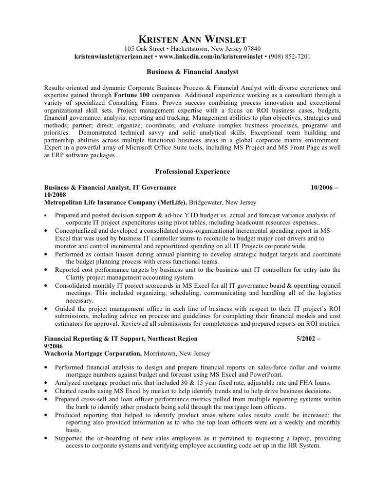 resume examples for loan officer