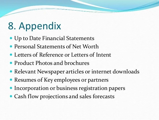 how to create an appendix in word 2010