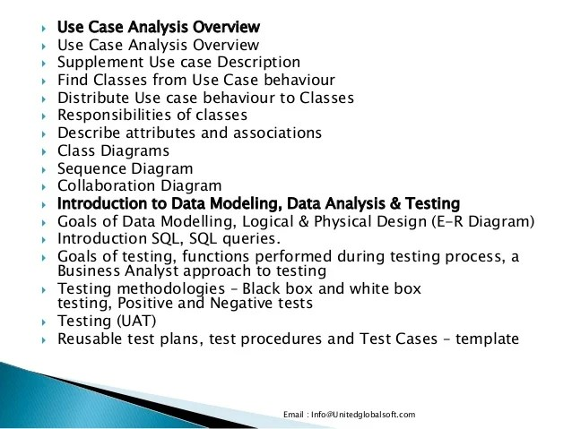 Bussiness analyst training in india