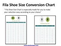 fila footwear size chart Sale,up to 58% Discounts