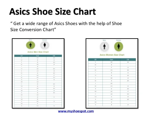 Asics Shoe Size Chart Inches Homeschoolingforfree