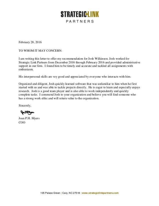 sample letter of recommendation for speech therapist
