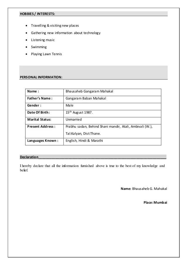 resume paper heb