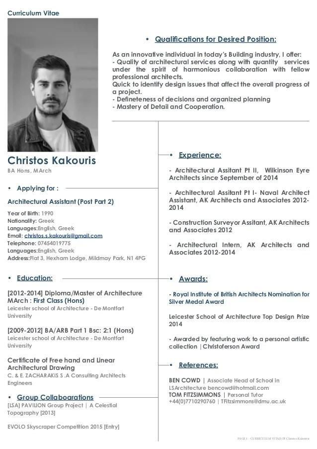 CV Portfolio