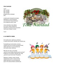 Villancico Feliz Navidad A Todos.Partitura Feliz Navidad Prospero Ano Y Felicidad