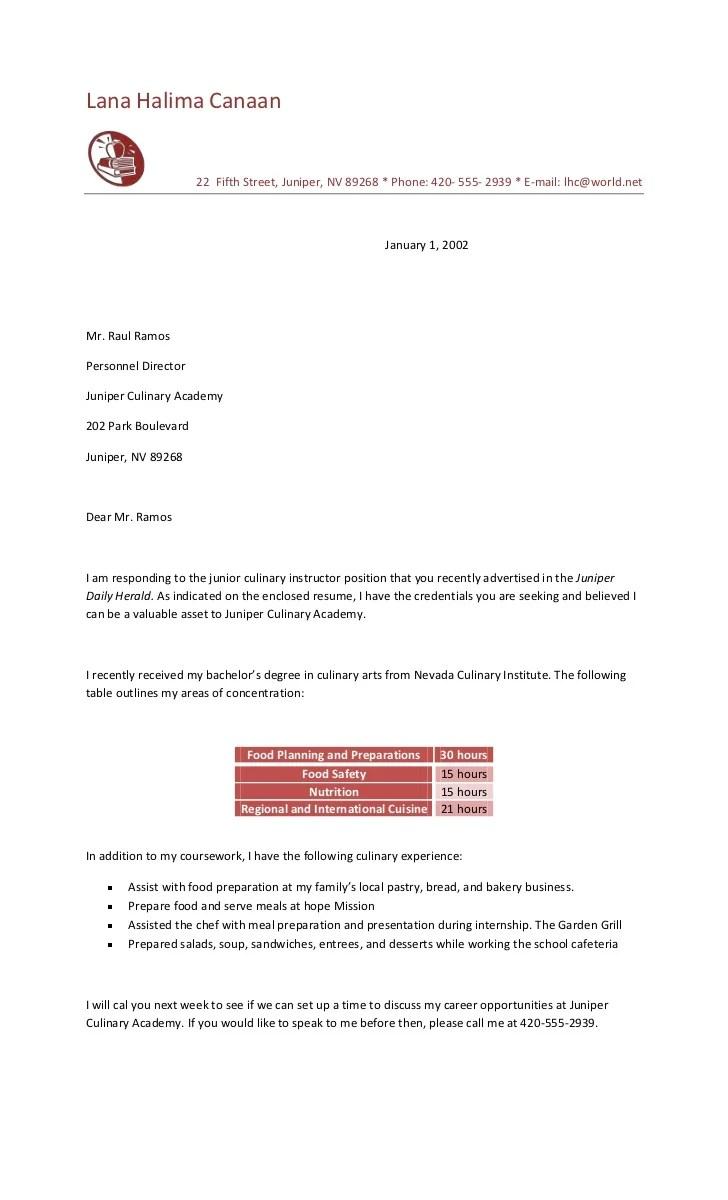 Food preparation cover letter  sncedirectwebfc2com
