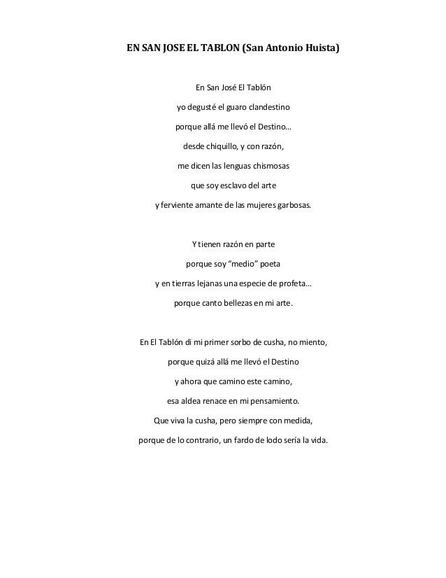 Canciones De San Antonio Huista