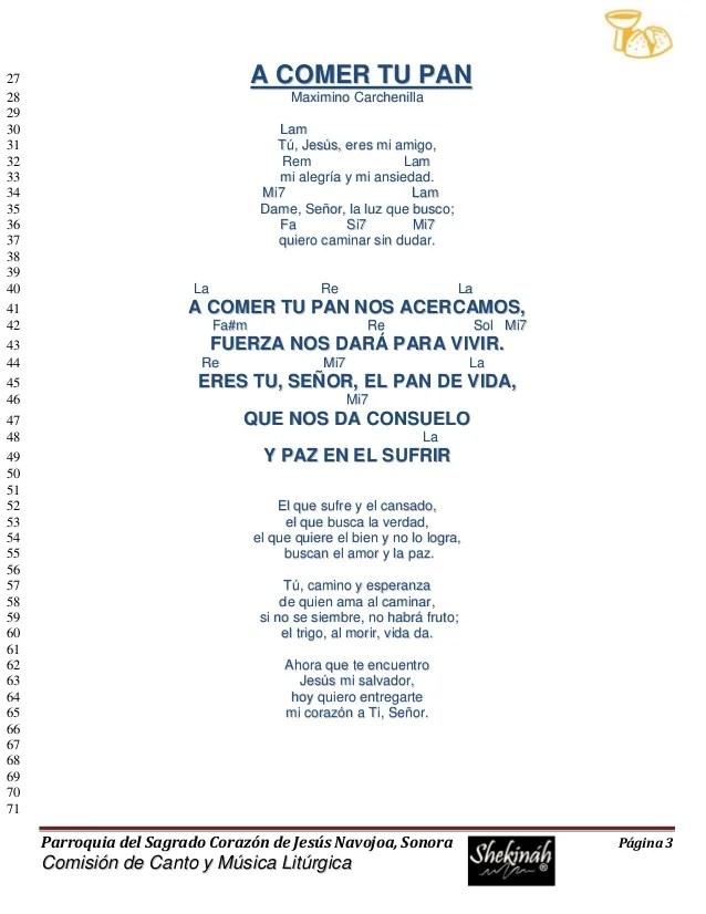 15 Minutos Con Jesus Sacramentado Juan Nolan Mp3 Descargar : minutos, jesus, sacramentado, nolan, descargar, Cancionero, Católico:, COMER, Autor:, Maximino, Carchenilla