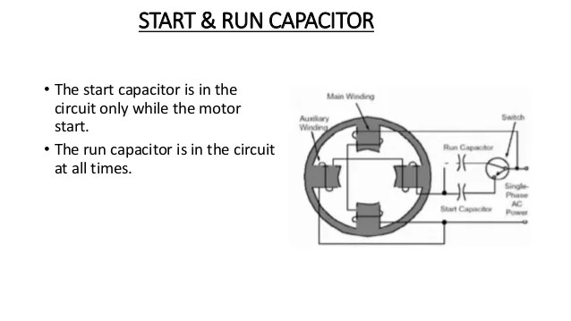 How To Wire A Capacitor Start Motor