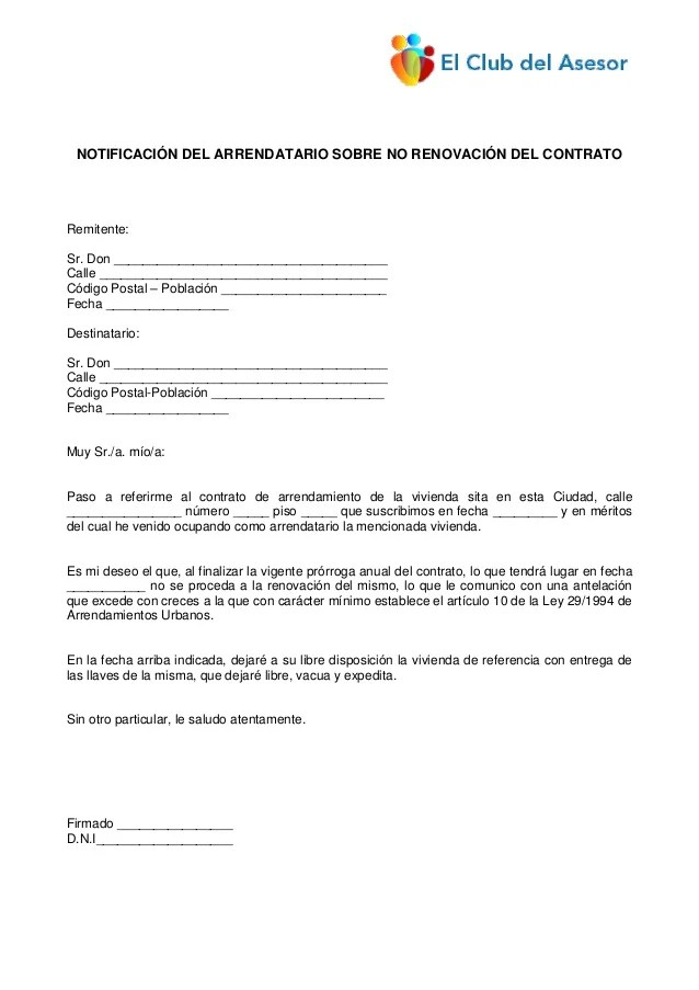 Car19 notificacion arrendatario_no_renueva