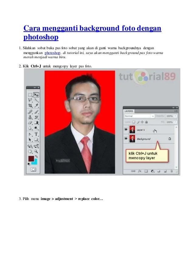 Cara Mengganti Baground Foto Di Photoshop : mengganti, baground, photoshop, Mengganti, Background, Dengan, Photoshop