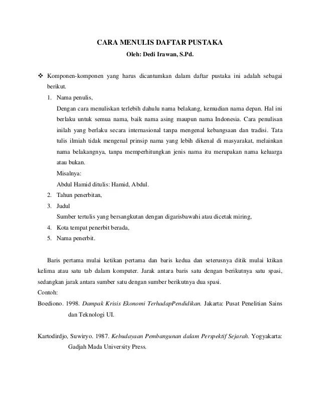 Cara Menulis Kutipan Dari Website : menulis, kutipan, website, Menulis, Kutipan, Daftar, Pustaka, Karya, Tulis, Ilmiah