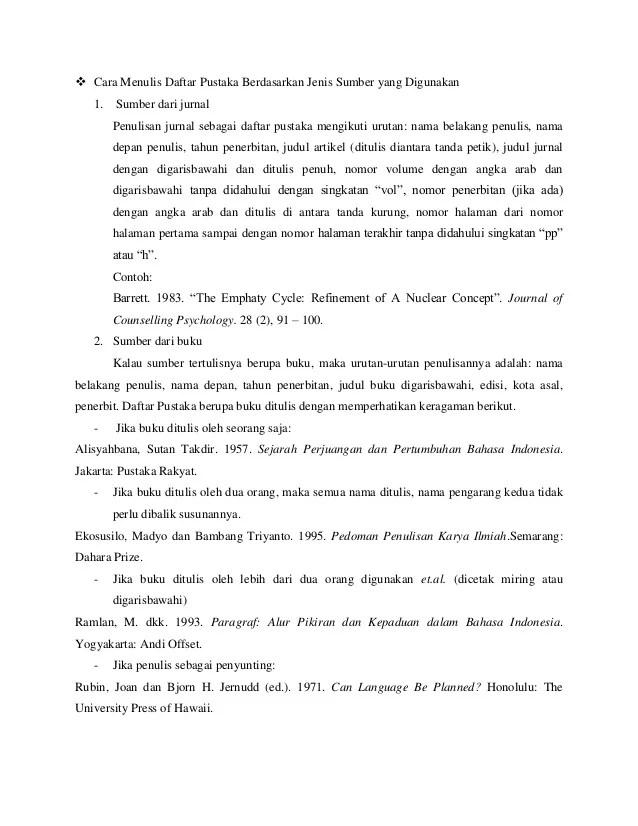 Kutipan Dari Jurnal : kutipan, jurnal, Menulis, Kutipan, Daftar, Pustaka, Karya, Tulis, Ilmiah