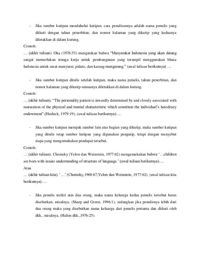 Contoh Kutipan Buku : contoh, kutipan, Penulisan, Kutipan, Benar, Ilmiah, Cute766