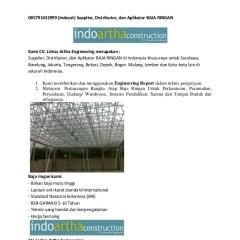 Distributor Baja Ringan Di Depok Cara Merakit Rangka Atap Galvalume 085791632999 Indosat