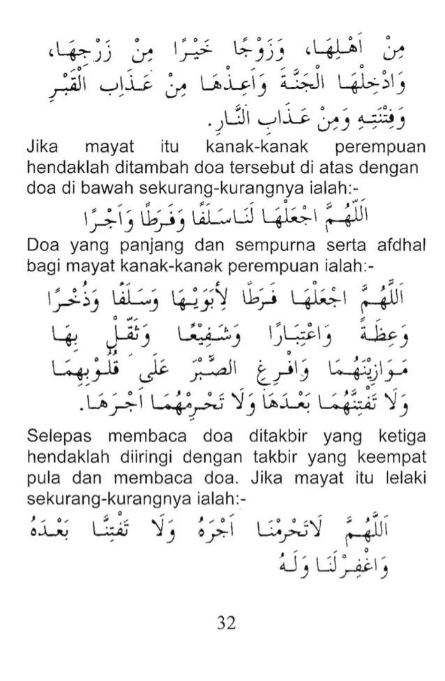 Doa Untuk Jenazah Perempuan : untuk, jenazah, perempuan, Jenazah, Wanita, Kumpulan, Materi, Pelajaran, Contoh