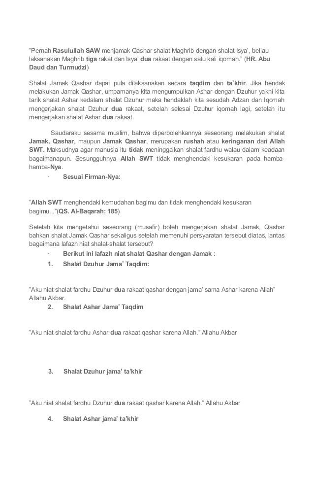 Cara Menjamak Shalat Dhuhur Diwaktu Ashar : menjamak, shalat, dhuhur, diwaktu, ashar, Sholat, Jama'