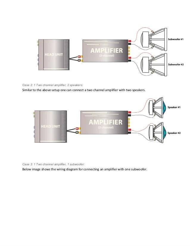 2 Amp Car Audio Wiring Diagram   Online Wiring Diagram