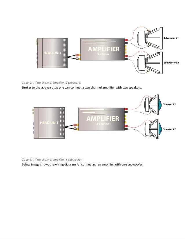2 channel car amp wiring diagram 2002 explorer rear window audio guide how to connect a amplifier