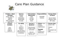 Care Planning
