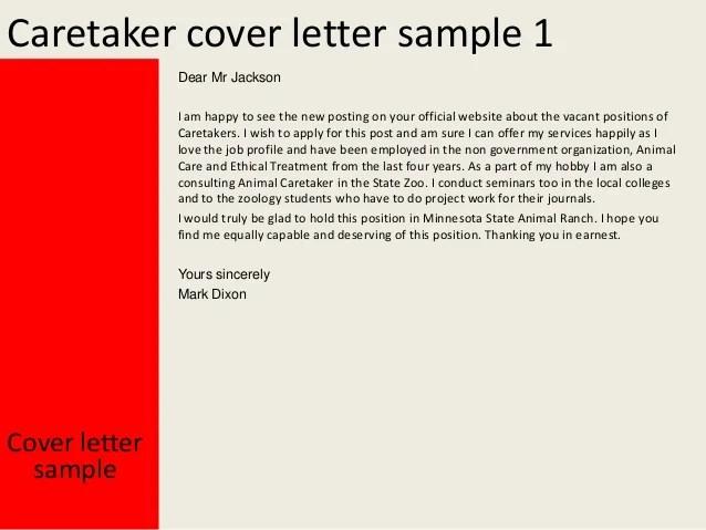 animal caretaker resume example