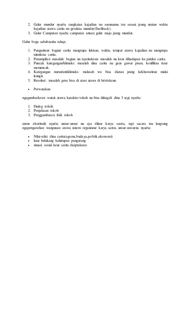 Unsur Intrinsik Carpon : unsur, intrinsik, carpon, Carita, Pondok