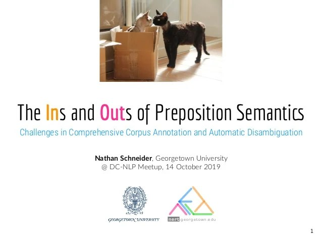 ins and outs of preposition