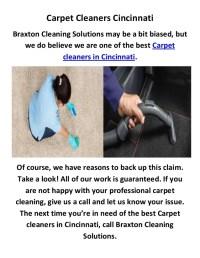 Carpet Cleaners In Cincinnati Oh  Floor Matttroy