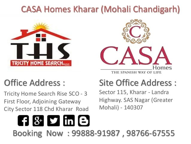Casa homes kharar mohali chandigarhppt