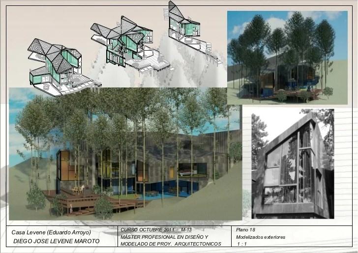 Proyecto Casa Levene Mster Profesional de Diseo y
