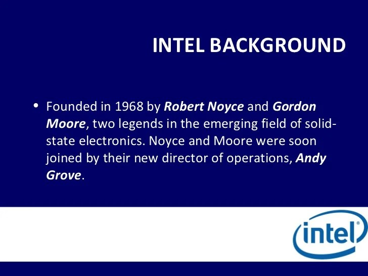 Intel background also ba corporation the hood river project rh slideshare