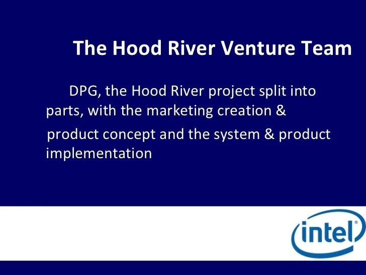 also ba intel corporation the hood river project rh slideshare