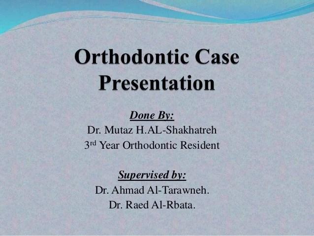 case presentation 3rd year