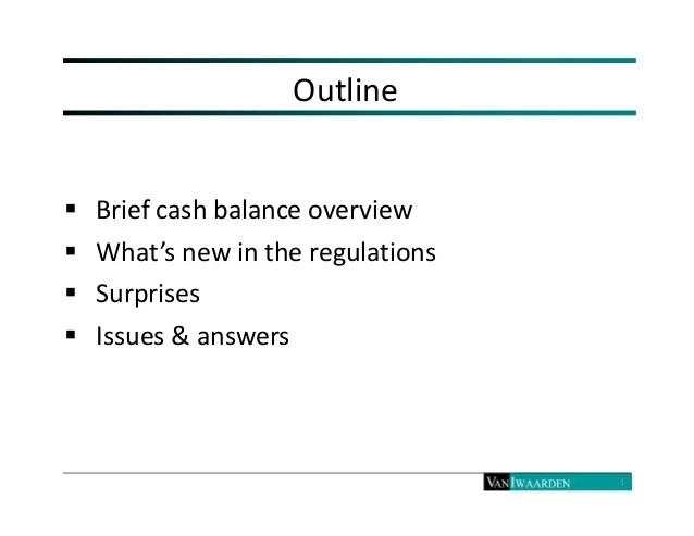 Cash balance  hybrid plans final  proposed reg