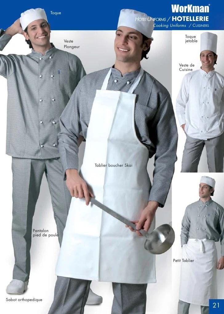 Pantalon Pied De Poule Cuisine