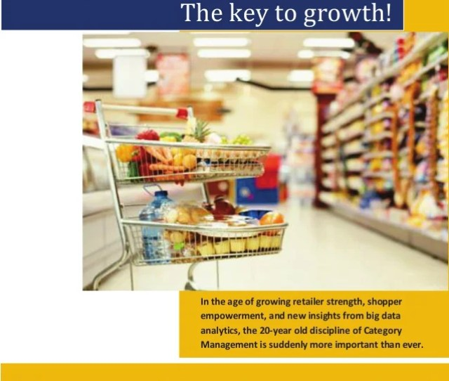 Category Management Mastery The Key To Growth